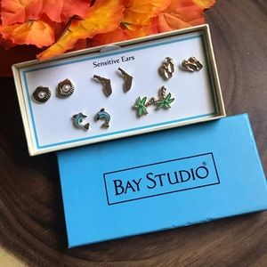 Bay Studio Earring Gift Set New In Box! NWT!